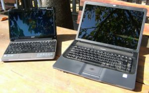 Acer One és HP 530
