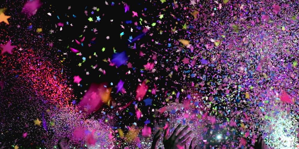 a konfetti is party kellék